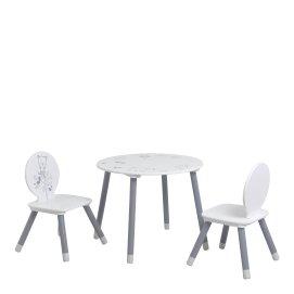 SET TABLE + 2 CHAISES 'BEAR'