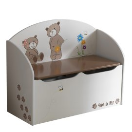 COFFRE A JOUETS 'TED & LILY'