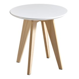 'RONDO' TABLE BASSE/BOUT CANAPE