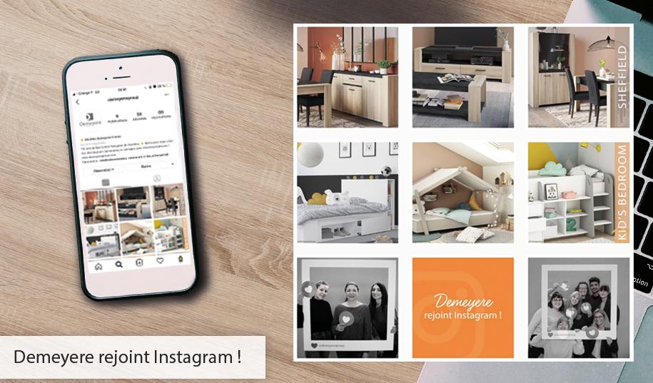 Demeyere rejoint Instagram !