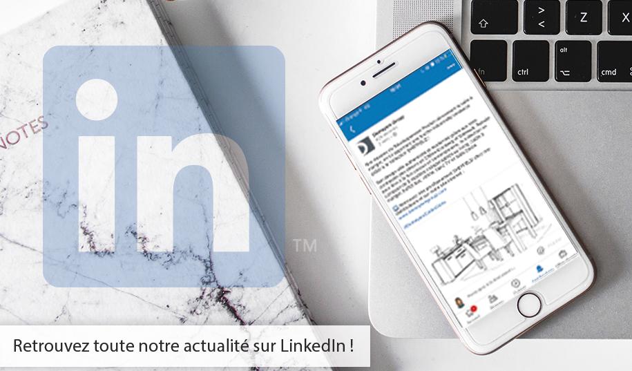 Retrouvez toute notre actualité sur LinkedIN !